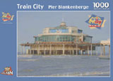 puzzel Train City Blankenberge